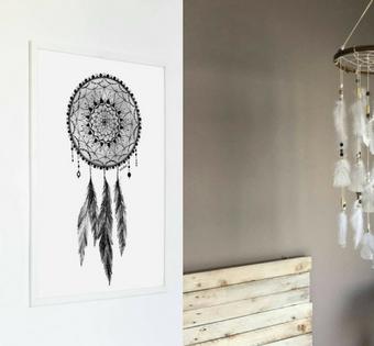 Lekkie jak puch – dekoracje do domu z piórami