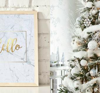 Święta na czasie – pomysł na prezent i dekorację świąteczną  w modnych kolorach