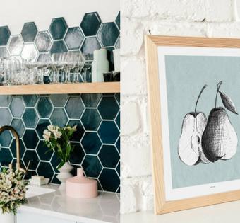 Ozdoby na ścianę w kuchni